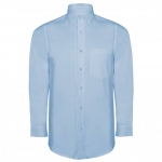 Camasa barbati maneca lunga Oxford CM5507 blue Roly