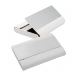 Port card carti vizita Business card holder IMITATIE-metal WLING AP801720-01 alb