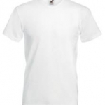 Tricou F08�Fruit of the Loom VALUEWEIGHT V-NECK T /MEN� 160 g/m2� MTEXTILE